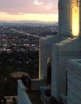 Griffith Observatory, February 7, 2014