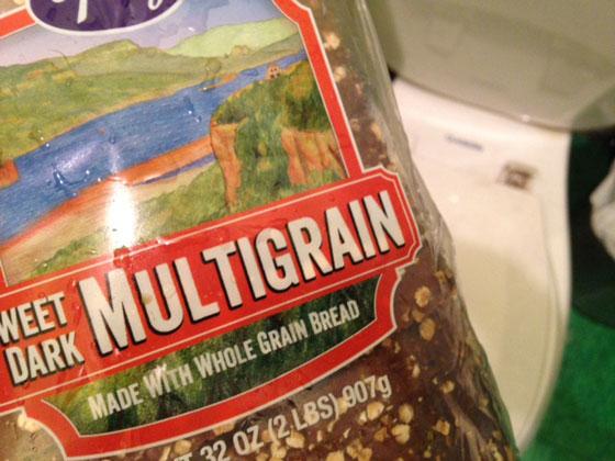 multigrain toiletloaf