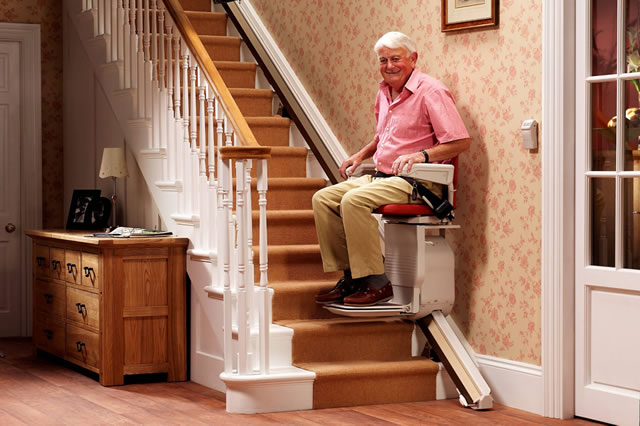 saxon400 stairlift brings you closer to God