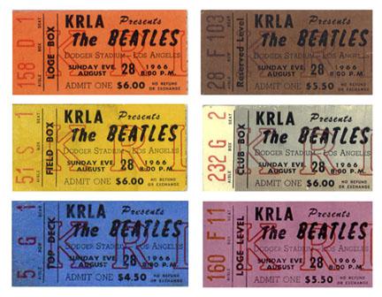 50 Years Ago Tonight: A Killer Lineup, Plus the Beatles, at Dodger Stadium » Marty Barrett