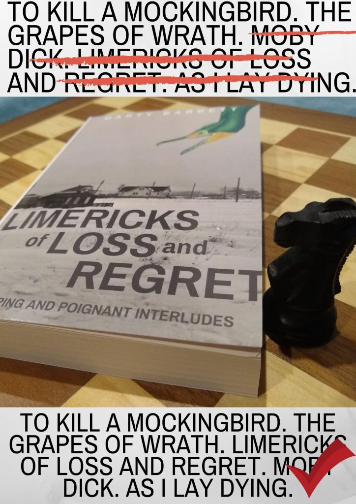 Limericks of Loss And Regret by Marty Barrett